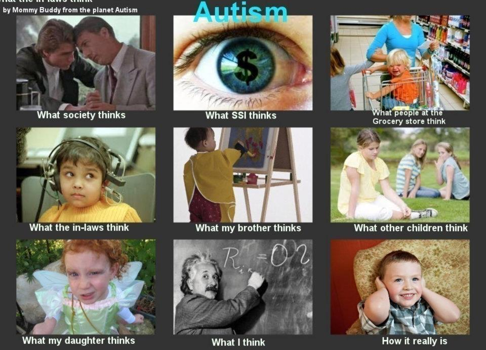 The Reality Of Autism >> Autism Perception Vs Reality Flappiness Is